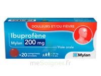 IBUPROFENE MYLAN 200 mg, comprimé enrobé à DIJON