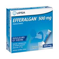Efferalgan 500 mg Glé en sachet Sach/16 à DIJON