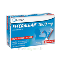 Efferalgan 1g Cappuccino Granules 8 Sachets à DIJON