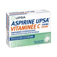 ASPIRINE UPSA VITAMINEE C TAMPONNEE EFFERVESCENTE, comprimé effervescent à DIJON