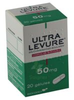 ULTRA-LEVURE 50 mg Gél Fl/20 à DIJON