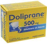 DOLIPRANE 500 mg Poudre pour solution buvable en sachet-dose B/12 à DIJON