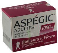 ASPEGIC ADULTES 1000 mg, poudre pour solution buvable en sachet-dose 15 à DIJON