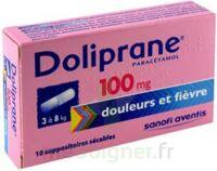 DOLIPRANE 100 mg Suppositoires sécables 2Plq/5 (10) à DIJON