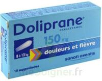 DOLIPRANE 150 mg Suppositoires 2Plq/5 (10) à DIJON