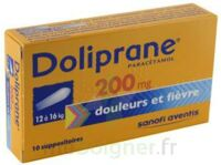 DOLIPRANE 200 mg Suppositoires 2Plq/5 (10) à DIJON