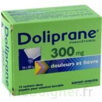 DOLIPRANE 300 mg Poudre pour solution buvable en sachet-dose B/12 à DIJON