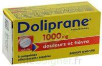 DOLIPRANE 1000 mg Comprimés effervescents sécables T/8 à DIJON