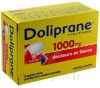 DOLIPRANE 1000 mg Poudre pour solution buvable en sachet-dose B/8 à DIJON