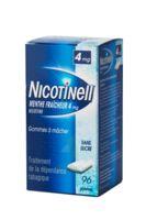 Nicotinell Menthe Fraicheur 4 Mg Sans Sucre, Gomme à Mâcher Médicamenteuse 8plq/12 à DIJON