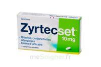 ZYRTECSET 10 mg, comprimé pelliculé sécable à DIJON