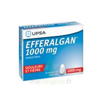 Efferalgan 1000 mg Comprimés pelliculés Plq/8 à DIJON