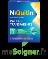 NIQUITIN 21 mg/24 heures, dispositif transdermique Sach/7 à DIJON