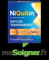 NIQUITIN 14 mg/24 heures, dispositif transdermique Sach/7 à DIJON