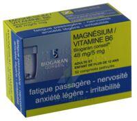MAGNESIUM/VITAMINE B6 BIOGARAN CONSEIL 48 mg/5 mg, comprimé pelliculé à DIJON