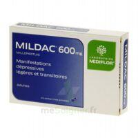 MILDAC 600 mg, comprimé enrobé à DIJON