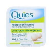 QUIES PROTECTION AUDITIVE CIRE NATURELLE 8 PAIRES à DIJON