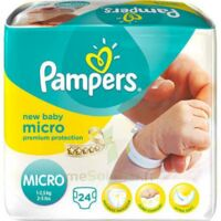 PAMPERS COUCHES NEW BABY MICRO 1-2,5 KG x 24 à DIJON