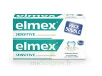 ELMEX SENSITIVE DENTIFRICE, tube 75 ml, pack 2 à DIJON