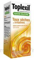 TOPLEXIL 0,33 mg/ml sans sucre solution buvable 150ml à DIJON