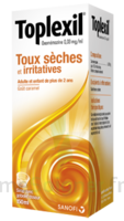 Toplexil 0,33 Mg/ml, Sirop 150ml à DIJON