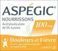 Aspegic Nourrissons 100 Mg, Poudre Pour Solution Buvable En Sachet-dose à DIJON