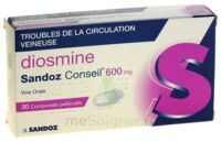 DIOSMINE SANDOZ CONSEIL 600 mg, comprimé pelliculé à DIJON