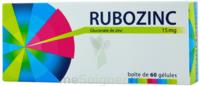 Rubozinc 15 Mg Gél 1plq/60 à DIJON