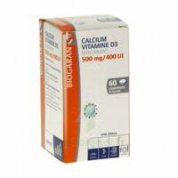 CALCIUM VITAMINE D3 BIOGARAN 500 mg/400 UI, comprimé à sucer à DIJON