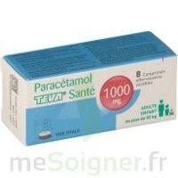 PARACETAMOL TEVA SANTE 1000 mg, comprimé effervescent sécable à DIJON