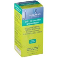 Chlorhexidine/chlorobutanol Biogaran Conseil 0,5 Ml/0,5 G Pour 100 Ml, Solution Pour Bain De Bouche Fl/200ml à DIJON