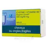 Cystine/vitamine B6 Biogaran Conseil 500 Mg/50 Mg Cpr Pell Plq/120 à DIJON