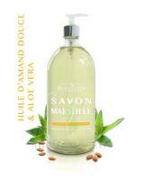 Beauterra - Savon de Marseille - Huile d'Amande Douce & Aloé Vera - 1L à DIJON