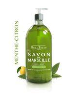 Beauterra - Savon de Marseille liquide - Menthe/Citron 1L à DIJON