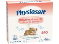 PHYSIOSALT REHYDRATATION ORALE SRO, bt 10 à DIJON