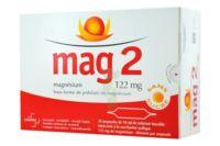 MAG 2 122 mg S buv en ampoule sans sucre édulcoré à la saccharine sodique 30Amp/10ml à DIJON