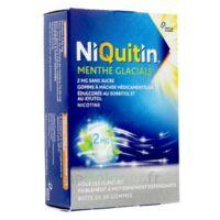 Niquitin 2 Mg Gom à Mâcher Médic Menthe Glaciale Sans Sucre Plq Pvc/pvdc/alu/30 à DIJON