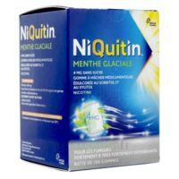 NIQUITIN 4 mg Gom à mâcher médic menthe glaciale sans sucre Plq PVC/PVDC/Alu/100 à DIJON