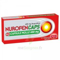 NUROFENCAPS 400 mg Caps molle Plq/10 à DIJON