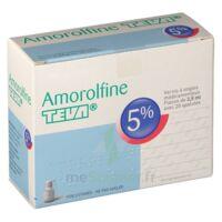 AMOROLFINE TEVA 5 % Vernis ongl médic médicamenteux 1Fl ver/2,5ml+spat à DIJON