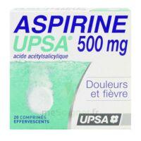 ASPIRINE UPSA 500 mg, comprimé effervescent à DIJON