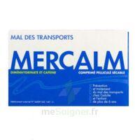 MERCALM, comprimé pelliculé sécable à DIJON