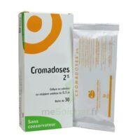 CROMADOSES 2 POUR CENT, collyre en solution en récipient unidose à DIJON
