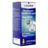 OXOMEMAZINE H3 SANTE 0,33 mg/ml SANS SUCRE, solution buvable édulcorée à l'acésulfame potassique à DIJON