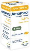AMBROXOL EG LABO CONSEIL 0,6 %, solution buvable à DIJON
