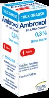 AMBROXOL EG LABO CONSEIL 0,3 POUR CENT SANS SUCRE, solution buvable édulcorée au cyclamate de sodium et au sorbitol à DIJON