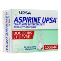 ASPIRINE UPSA TAMPONNEE EFFERVESCENTE 1000 mg, comprimé effervescent à DIJON