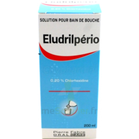 Eludrilperio 0,2 %, Solution Pour Bain De Bouche à DIJON