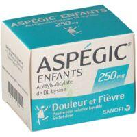 ASPEGIC ENFANTS 250, poudre pour solution buvable en sachet-dose à DIJON