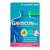 GAVISCONELL Suspension buvable sachet-dose menthe sans sucre 12Sach/10ml à DIJON